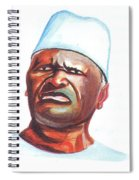 Ahmed Sekou Toure Spiral Notebook