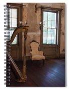 Aiken Rhett House Living Room Spiral Notebook