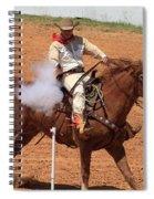 Aim..fire..pop Spiral Notebook
