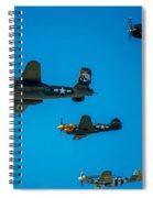 Air America Spiral Notebook
