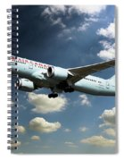 Air Canada 787 Dreamliner Spiral Notebook