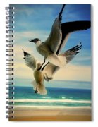 Air Dance Spiral Notebook