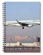 Air Dolomiti, Embraer Erj-195 Spiral Notebook