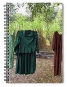 Air Dried Laundry Spiral Notebook