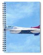 Air Force F-16 Thunderbird Spiral Notebook