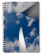 Air Force Memorial Spiral Notebook