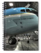 Air Force One - Boeing Vc-137c Sam 26000 Spiral Notebook