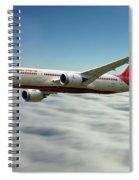 Air India Boeing 787 Dreamliner N1008s  Spiral Notebook