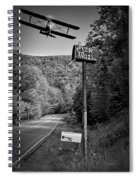 Air Mail Delivery Maine Style Spiral Notebook
