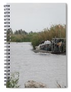 Airboat Rides 25 Cents Spiral Notebook