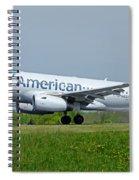 Airbus A319 Spiral Notebook