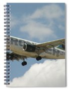 Airbus A320 Denver International Airport Spiral Notebook