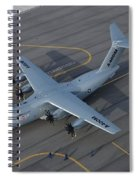 Airbus A400m Spiral Notebook