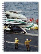 Aircraft Planes F18 Cat Spiral Notebook