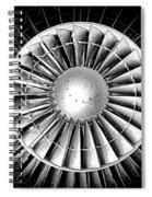 Aircraft Turbofan Engine Spiral Notebook