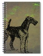 Airedale Terrier Spiral Notebook