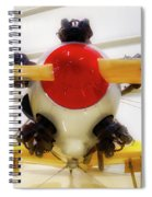 Airplane Wooden Propeller And Engine Pt 22 Recruit 02 Spiral Notebook