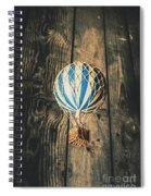 Airs Of An Indoor Retreat Spiral Notebook