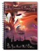 Airship Commander... Spiral Notebook