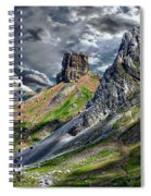Aisa Valley Scenic Spiral Notebook