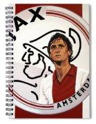 Ajax Amsterdam Painting Spiral Notebook