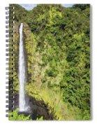 Akaka Falls, Hawaii Spiral Notebook
