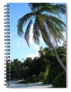 Akumal Sur Beach 1 Spiral Notebook