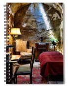 Al Capone's Cell - Scarface - Eastern State Penitentiary Spiral Notebook