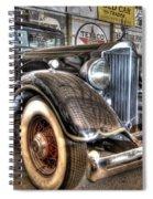Al Capone's Packard Spiral Notebook