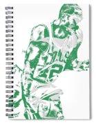 Al Horford Boston Celtics Pixel Art 5 Spiral Notebook