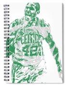 Al Horford Boston Celtics Pixel Art 7 Spiral Notebook