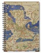 Al Idrisi World Map 1154 Spiral Notebook