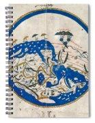 Al-idrisi's World Map Spiral Notebook