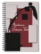 Alabama Crimson Tide Art Spiral Notebook