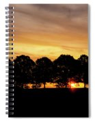 Alabama Sunrise Spiral Notebook