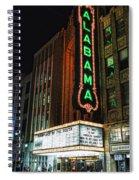 Alabama Theater Spiral Notebook