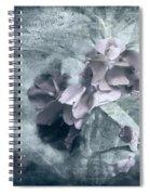 Alabaster Petals Spiral Notebook