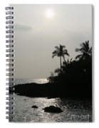 Alabaster Sunset Makena Landing Maui Hawaii Spiral Notebook