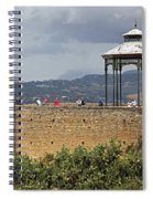 Alameda De Jose Antonio In Ronda Spain Spiral Notebook