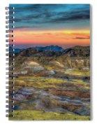 Alamo Creek Sunset Spiral Notebook