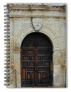 Alamo Door Spiral Notebook
