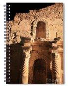 Alamo Shadows Spiral Notebook