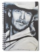 Alan Jackson - In The Real World Spiral Notebook