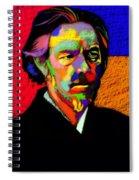 Alan Watts Portrait Spiral Notebook