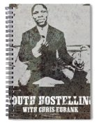 Alan Youth Hostelling Chris Eubank Spiral Notebook