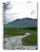 Alaska Denali National Park Landscape 1 Spiral Notebook