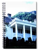 Alaska Governors Mansion Spiral Notebook