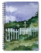 Alaska Graveyard  Spiral Notebook