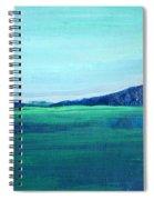 Alaska Lake Spiral Notebook