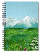 Alaska Splendor Spiral Notebook